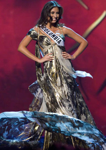 Top 10 in Evening Gowns: Miss Universe 2008 | The G Manifesto